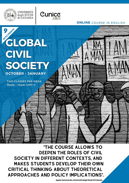 global civil society course poster